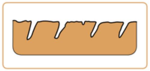 95d479f0e06 Aniline leder, open structuur zonder enige coating.
